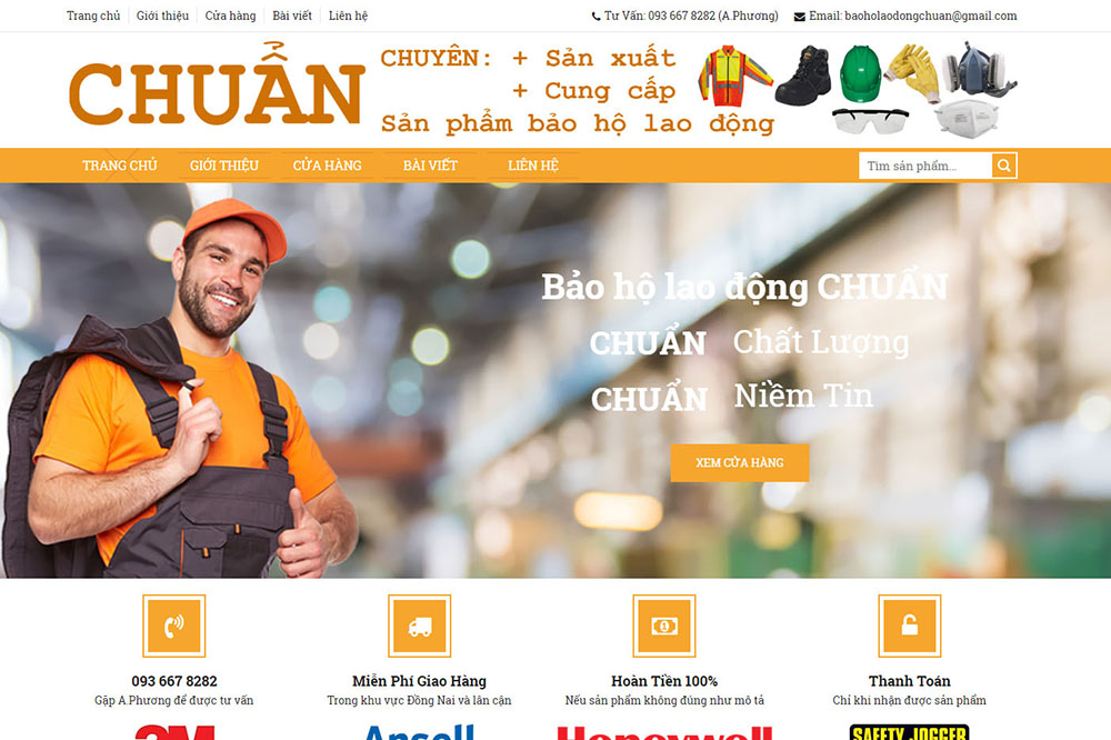 SAO KIM - BẢO HỘ LAO ĐỘNG CHUẨN - dongnaiweb.vn